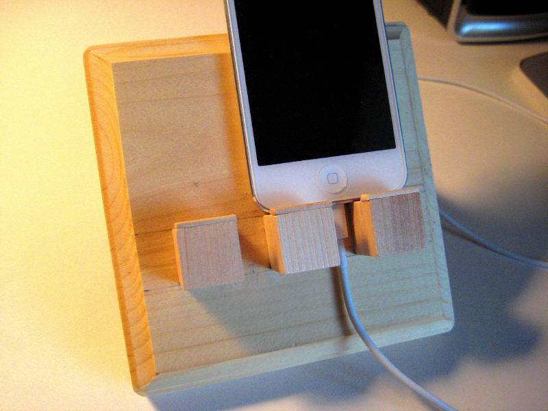 Homemade Ipod Touch Docking Station The Tantisper Tower